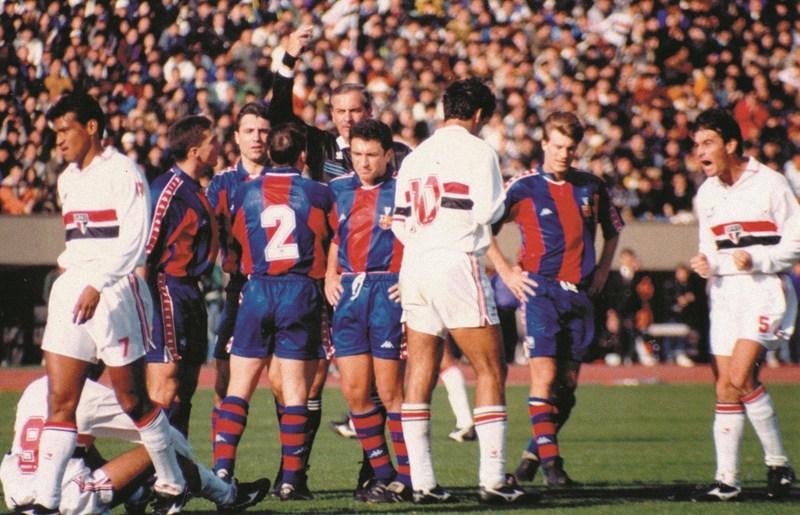 Há 25 anos, o São Paulo foi campeão do mundo pela primeira vez!