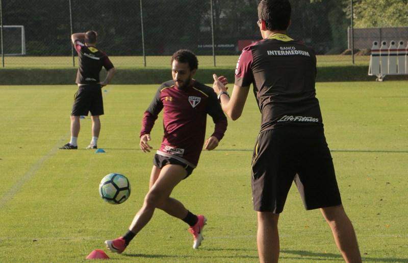 São Paulo: Wellington Nem avança para preparação física