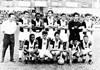 Osvaldo Cunha, Tenente, Bellini, Carlos Alberto Rodrigues, Fábio e Nenê; Abaixados: Paraná, Prado, Babá, Fefeu e Adíber
