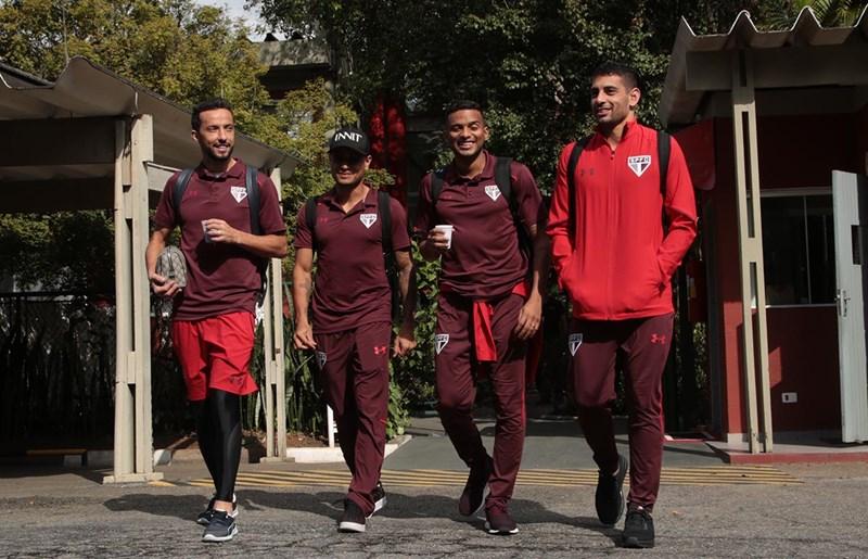 Última viagem antes da Copa: São Paulo já está no Paraná