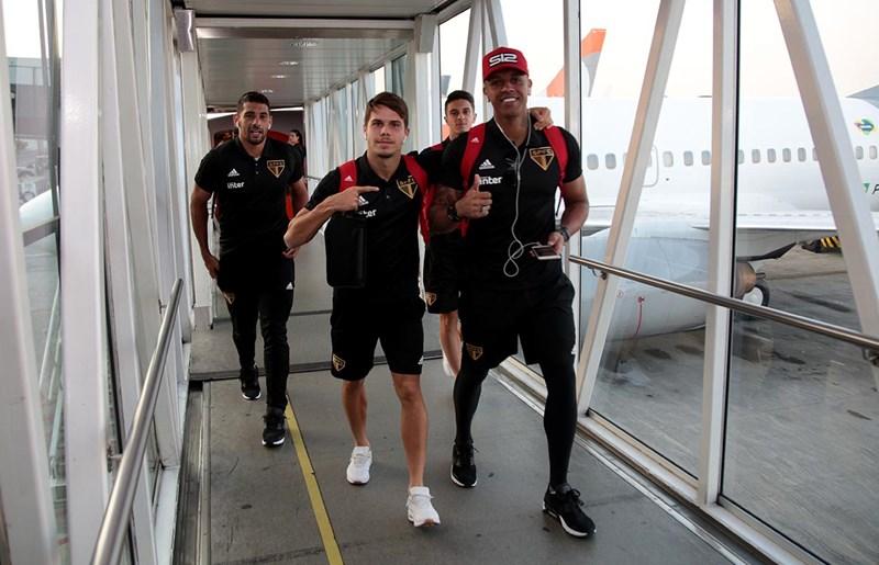 De volta às viagens: Tricolor já está no Rio