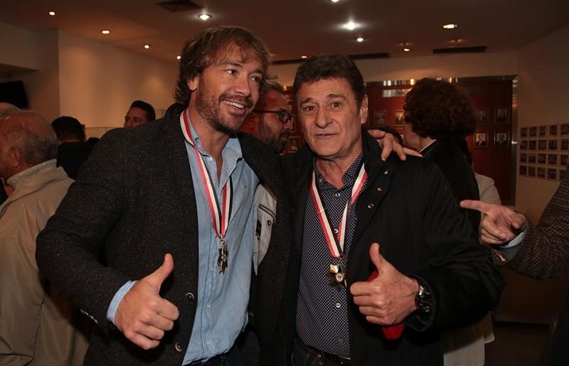Lugano e Darío Pereyra