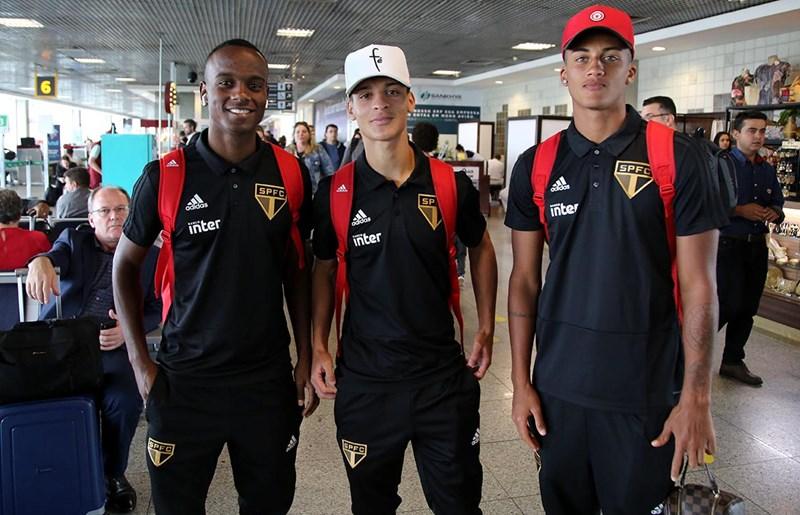 Tricolor desembarca no Rio para duelo importante