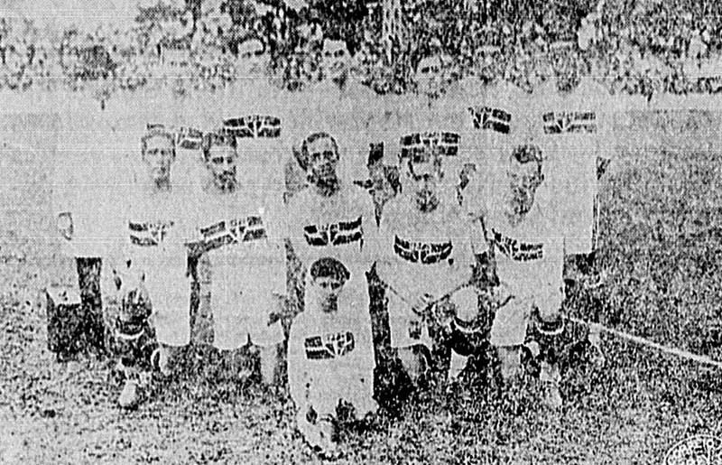 O time do São Paulo no primeiro Choque-Rei, em 1930 (2x2)