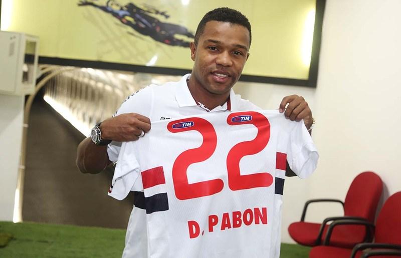 OFICIAL  Pabon é o novo reforço do São Paulo 3bb86565791