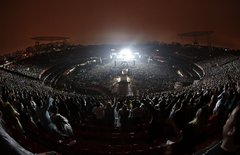 O Morumbi é palco de grandes shows em São Paulo desde 1981